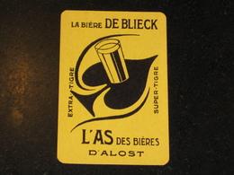 1 Oude Speelkaart L'AS Brouwerij DE BLIECK Te AALST Brasserie - Otros