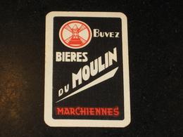 1 Oude Speelkaart BIERES Brouwerij DU MOULIN Te MARCHIENNES Brasserie - Otros