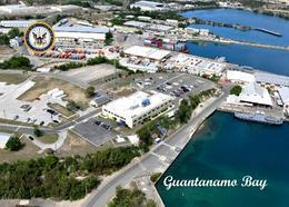 Cuba Guantanamo Bay New Postcard Kuba Landkarte AK - Kuba