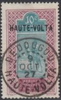 Haute Volta - Dedougou Sur N° 26 (YT) N° 37 (AM). Oblitération De 1927. - Haute-Volta (1920-1932)