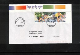 Ireland 1998 Cycling Tour De France Interesting Cover - Radsport