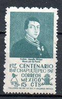 MEXIQUE. N°623 De 1947. Bataille De Chapultepec. - Militares