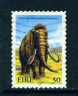 IRELAND  -  1999 Extinct Irish Animals  30p Self Adhesive Used As Scan - 1949-... Republic Of Ireland