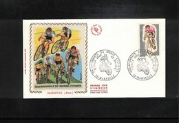 France 1972 World Cycling Championship Interesting Cover - Ciclismo