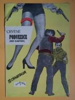 PROG 21 - Advertisement, Publicité, RED GARTERS -Yugoslavia Movie Program-PAT CROWLEY, ROSEMARY CLOONEY, CARSON JACK - Magazines