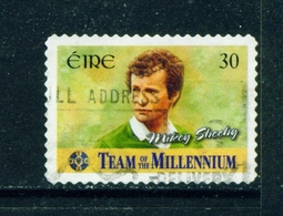 IRELAND  -  2000 Team Of The Millennium  30p Self Adhesive Used As Scan - 1949-... Republic Of Ireland
