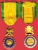 ** MEDAILLE  VALEUR  Et  DICIPLINE  1870 ** - Medaillen & Ehrenzeichen