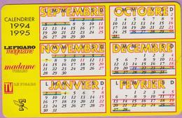 Calendrier °° 1994-95 - Calendrier Scolaire -  5,5x8,5 - Calendari