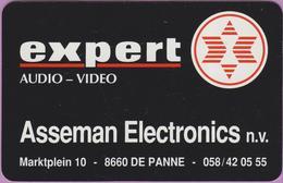 Calendrier °° 1993 - Expert Audio - Asseman - Belgique - 5,5x8,5 - Calendari