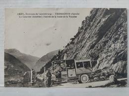 Lanslebourg. Termignon. Courrier Autobus Route De La Vanoise - Autres Communes