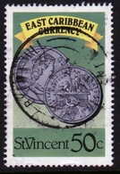 St Vincent 1987 Single 50c Stamp From The East Caribbean Currency Set. - St.Vincent (1979-...)