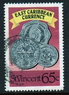 St Vincent 1987 Single 65c Stamp From The East Caribbean Currency Set. - St.Vincent (1979-...)