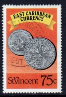 St Vincent 1987 Single 75c Stamp From The East Caribbean Currency Set. - St.Vincent (1979-...)