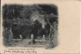 Elephant A Cave, Bombay - Postcards