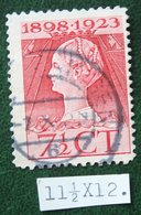 Regeringsjubileumzegel 7 1/2 Ct NVPH 123G 123 G (Mi 125) 1923 Gestempeld / USED NEDERLAND / NIEDERLANDE - Used Stamps