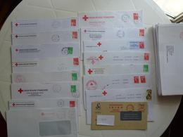 107 ENVELOPPES CROIX ROUGE FRANÇAISE - Rotes Kreuz