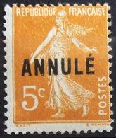 FRANCE                     N° 158 - CI -1                 NEUF** - Lehrkurse