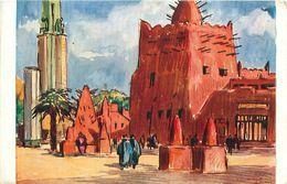 Cpa PARIS Exposition Coloniale 1931 - L Afrique Occidentale Française De BELAY - Ausstellungen