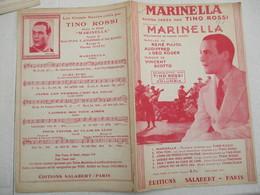 MARINELLA RUMBA CREEE PAR TINO ROSSI PAROLES DE RENE PUJOL AUDIFFRED & GEO KOGER MUSIQUE DE VINCENT SCOTTO 1936 - Spartiti