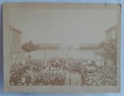Grande Photo De LYON A. BERNOUD Première Fête Dieu Dans La Paroisse Du Très Saint Sacrement REPOSOIR PART-DIEU 1876 - Photographs