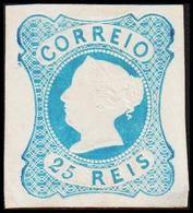 1853. Maria II. 25 REIS. Reprint. Thin Spot. (Michel 2b) - JF304201 - 1853 : D.Maria