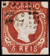 1856. Pedro V. 5 REIS.  (Michel 9c) - JF304207 - 1853 : D.Maria