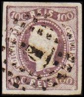 1866. Luis I. 100 REIS. (Michel 23) - JF304213 - 1853 : D.Maria