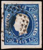 1866. Luis I. 120 REIS. (Michel 24) - JF304214 - 1853 : D.Maria