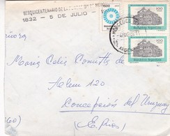 1982 COVER - CIRCDULEE MERCEDES TO CONCEPCION DEL URUGUAY (ENTRE RIOS) ARGENTINE. AUTRE MARQUE - BLEUP - Argentine