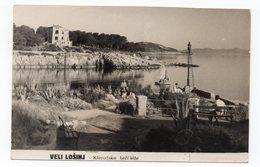 1930s YUGOSLAVIA, CROATIA, VELI LOSINJ, ORIGINAL PHOTOGRAPHY,  ILLUSTRATED POSTCARD, USED - Yugoslavia