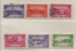 Iran 1942/44 Siehe Bild/Beschreibung 6 Marken Bauwerke, Gestempelt; Used - Iran