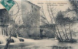 Cpa SAMATAN 32 Le Foulon - Chute - Usine Electrique - Pont Du Marcadieu - Hôpital - France