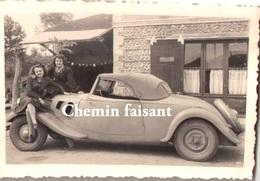 Photo Originale D'un Coupé Automobile  - Scans Recto-verso - Automobiles