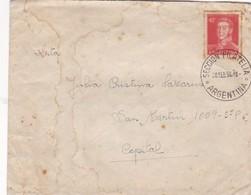 1953 COVER - CIRCULEE BUENOS AIRES OBLITERATION SECCION FILATELICA EXPO FLOTANTE CIUDAD DE TOLEDO - BLEUP - Argentine