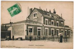 P434 - CHAGNY - Gare 'extérieur) - Chagny
