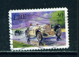 IRELAND  -  2001 Motorsport  30p Self Adhesive Used As Scan - 1949-... Republic Of Ireland