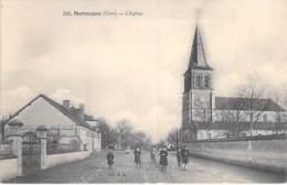 18 - MARMAGNE : Le Quartier De L'Eglise - CPA Village ( 1.980 Habitants ) - Cher ( Berry ) - Autres Communes