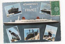 Compagnie Générale Transatlantique : France : Le Plus Long Paquebot Du Monde - Paquebots
