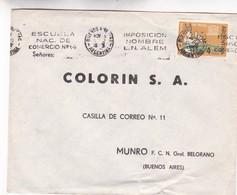 1963 COMMERCIAL COVER - COLORIN SA. CIRCULEE BUENOS AIRES. BANDELETA PARLANTE - BLEUP - Argentine