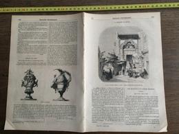 1853 MP MOSQUEE EL-MOYED CAIRE LIONNE LIONCEAU EUGENE DELACROIX VITRAIL BIBLIOTHEQUE STRASBOURG VASES CUVILLIER FRANCOIS - Collections