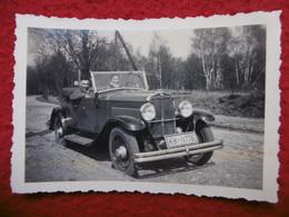 AUTOMOBILE CABRIOLET HISPANO SUISSE ? PHOTO LUBLINSKI HAMBURG  9 X 6 - Automobiles
