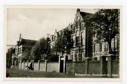 D091 - Bodegraven - Overtocht - Pensionaat St. Jozef - Molen Wieken In De Achtergrond - Uitg W Karssen - Nederland
