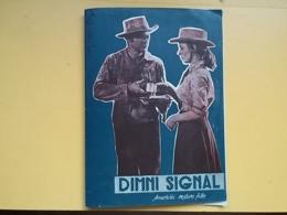 PROG 19 - Smoke Signal - Yugoslavia Movie Program-Publicité - Dana Andrews And Piper Laurie - Magazines