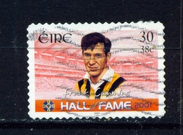 IRELAND  -  2001 Hall Of Fame  30p Self Adhesive Used As Scan - 1949-... Republic Of Ireland