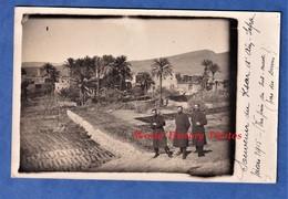 CPA Photo - AIN SEFRA ( Algérie ) - Souvenir Du Ksar - Mars 1915 - Lire Verso - Cachet Commandant - War 1914-18