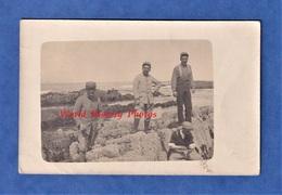 CPA Photo - CASABLANCA ( Maroc ) - Groupe De Poilu Prés Du Phare - 17 Mars 1918 - WW1 Colonial - War 1914-18