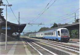 472 E 402B. 141 Diagnostico Archimede Stazione Di Busto Arsizio Varese Rairoad Treain Railweys Treni - Trains