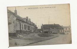 TRITH ST LEGER LA RUE DE LA MARNIERE VUE DU HAUT - Other Municipalities