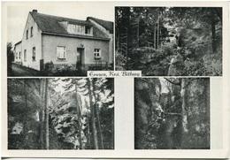 """DEUTSCHLAND - ERNZEN Kreis Bitburg Restaurant, Café, Fremdenpension """"ZUM FELSENWEIHER"""" - Autres"""