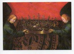 Hans Memling: Triptyque De Saint Jean Baptiste Et Saint Jean L'Evangeliste, Ange, Couronne (19-1100) - Paintings